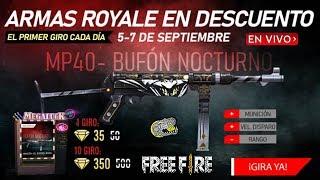 🔴 Nueva Lucky Royale de Arma - Free Fire - Ya no meteré diamantes para ahorrar para la operación!!