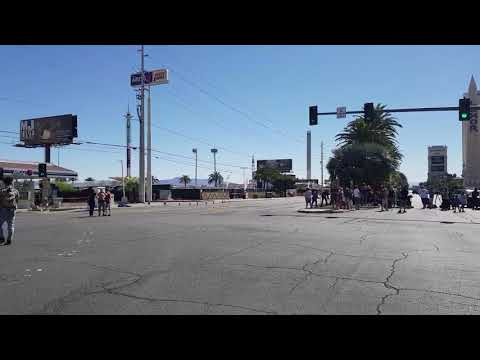 Las Vegas Shooting empty Streets day After:-(