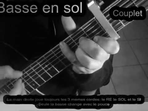 Comment jouer Repenti de Renan LUCE - Guitare et chant (tab)