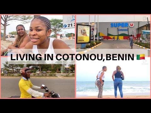 LIVING IN COTONOU | AIRPORT VISIT | BENIN SHOPPING MALL | FOOD