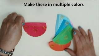 Last Minute Diwali Decoration Idea for Kids, Kids Diwali Craft, Diwali and Christmas Paper Lantern