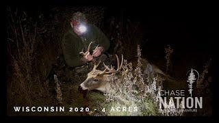 4 Acres BIG BUCK Bow Hunt - Wisconsin 2020
