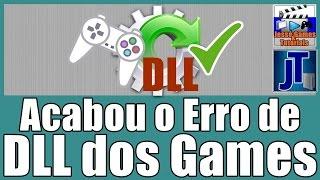 Como Resolver Problemas de DLL dos Games (ADEUS AO ERRO DE DLLs)
