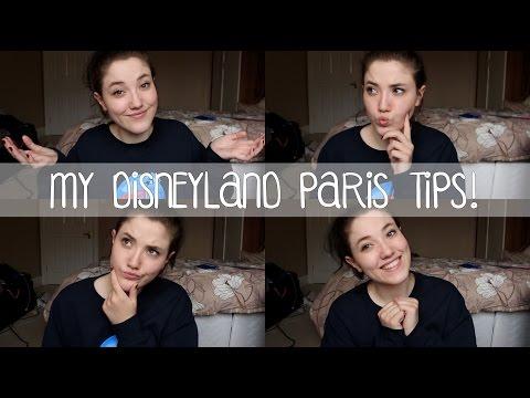 MY DISNEYLAND PARIS TIPS!