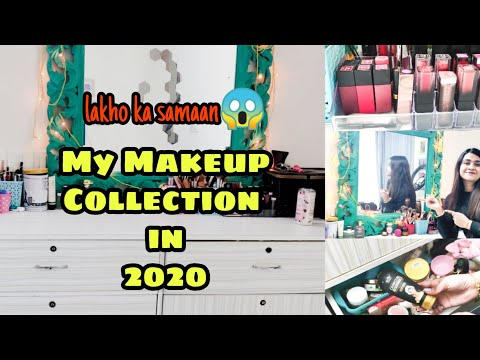 mymakeup-collection-&-storage-in2020|-makeup|-skincare-|-jewellery-|-hair-accessory|-priyanka-ghosh|