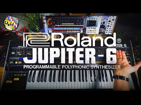 Why the Roland Jupiter 6 is amazing.