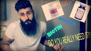 Biotin Supplements : Do you really need them??