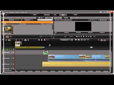 Disk Intro erstellen in Pinnacle Studio 16 und 17 Video 113 von 114