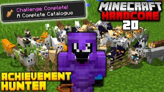 Owning EVERY Cat in Hardcore Minecraft (#20)