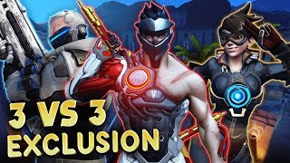 OVERWATCH FR | 3 Contre 3 en Exclusion ( PS4 Pro )