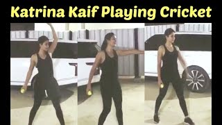 Katrina Kaif HOT Playing Cricket | WATCH VIDEO