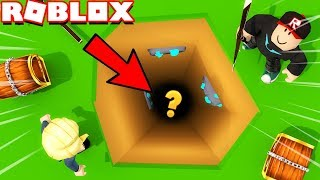 WE DUG the BIGGEST hole in ROBLOX! 😱 | Vito and Bella (Mining Simulator)