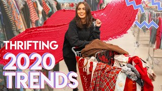 The ULTIMATE 2020 TRENDS Midwest Thrifting Adventure ♡
