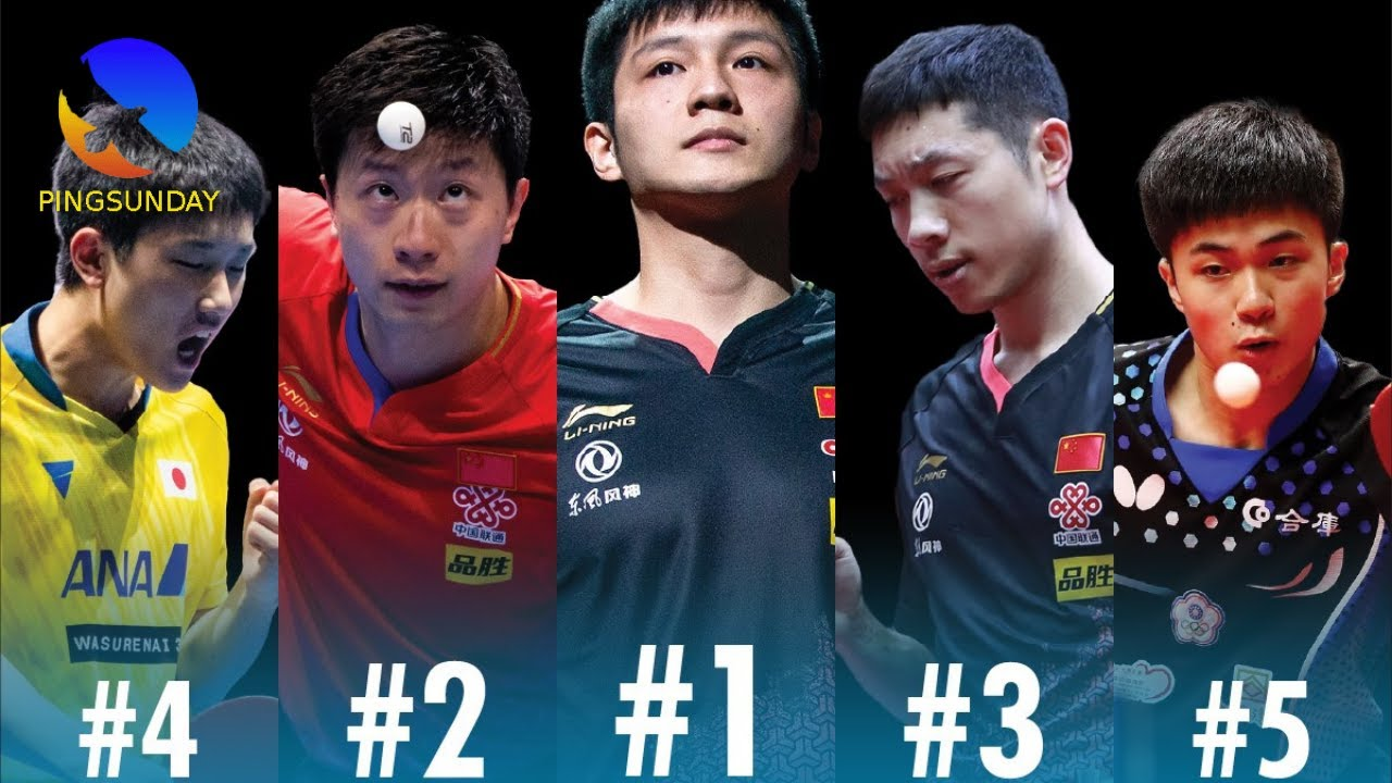 Download Top 5 men table tennis players (August 2021)