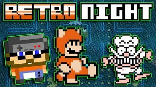 BTG RETRO NIGHT! | Playing NES Games