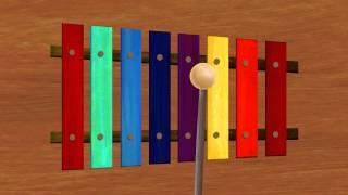 Xylophone - Lower Case Alphabet