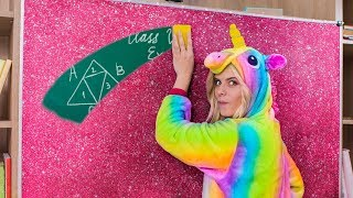 10 DIY Unicorn School Supplies…