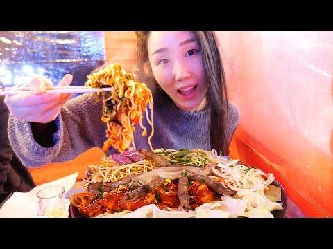 Ngedate di Angkringan romantis Korea!
