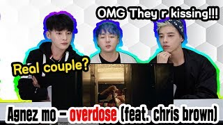 AGNEZ MO - Overdose (ft. Chris Brown) Reaction by ORANG KOREA BOY BAND