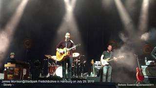 James Morrison *Slowly*@Stadtpark Freilichtbühne/Hamburg on July 29, 2019