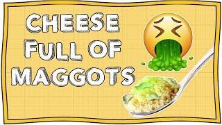 The World Most Dangerous Cheese   Officially Amazing   Nugget
