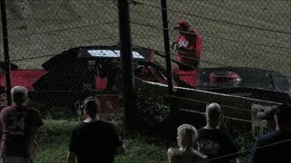 Racing - Hobby Stocks (Feature Race) At Bubba Raceway Park 6-21-14