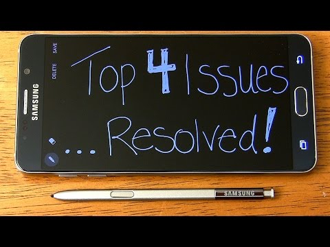 Galaxy Note 5: Top 4 issues AND how to fix them. from YouTube · Duration:  9 minutes 42 seconds
