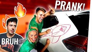 Wir haben CRISPYROB'S NEUES AUTO zerstört! (PRANK!)