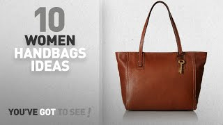 Top 10 Fossil Handbag [ Winter 2018 ]: Fossil Emma Tote