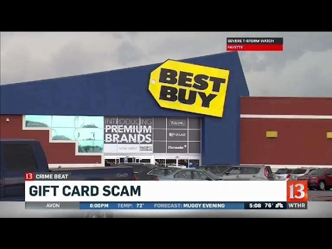 Gift Card Scam