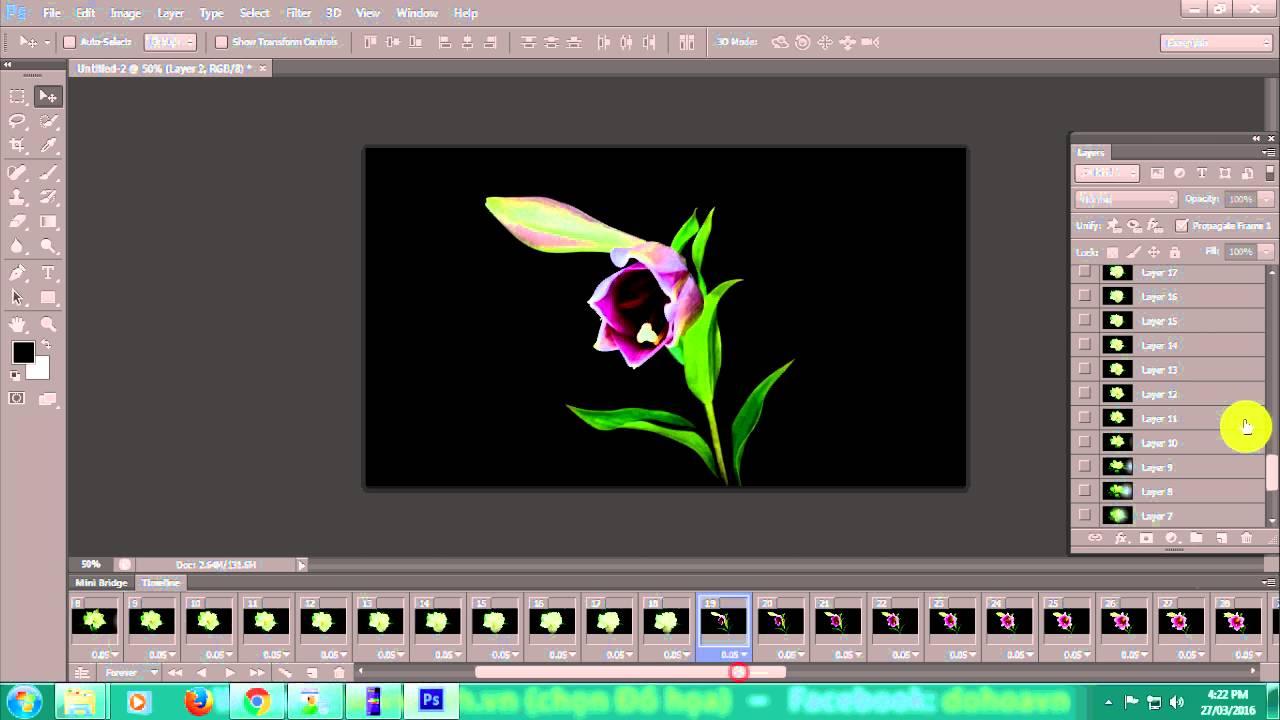 [Học Photoshop] TẠO ẢNH ĐỘNG ĐẸP BẰNG PHOTOSHOP