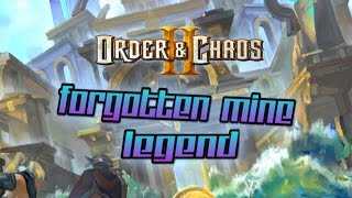 Order and Chaos 2: Redemption - Forgotten Mine Legend - Dungeon Guide