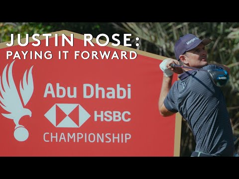 Paying It Forward With Justin Rose