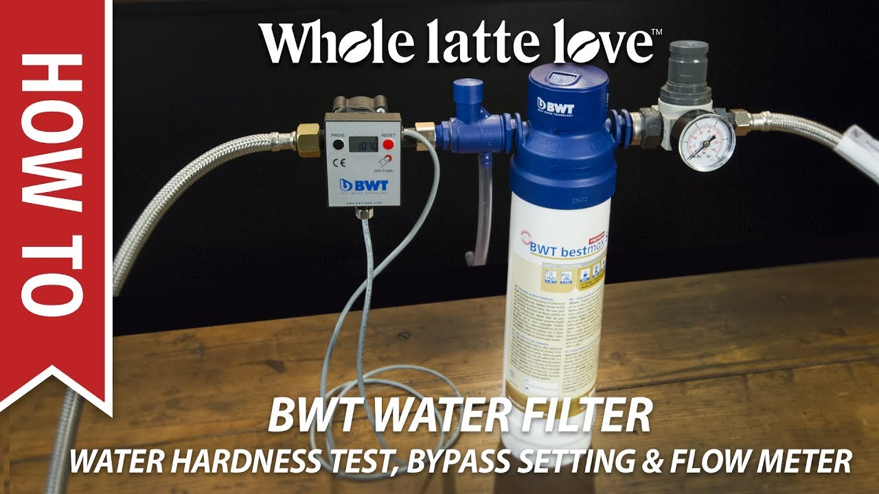 How To BWT Water Filter: Hardness Testing, Bypass Setting & Flow ...