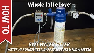 How To BWT Water Filter: Hardness Testing, Bypass Setting & Flow Meter Programming