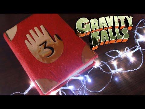 Cмотреть видео онлайн DIYкак сделать дневник из Гравити Фолз/Gravity Falls