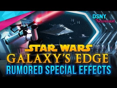 Rumored SPECIAL EFFECTS For STAR WARS LAND At Disneyland And Disney World - Disney News - 7/17/18