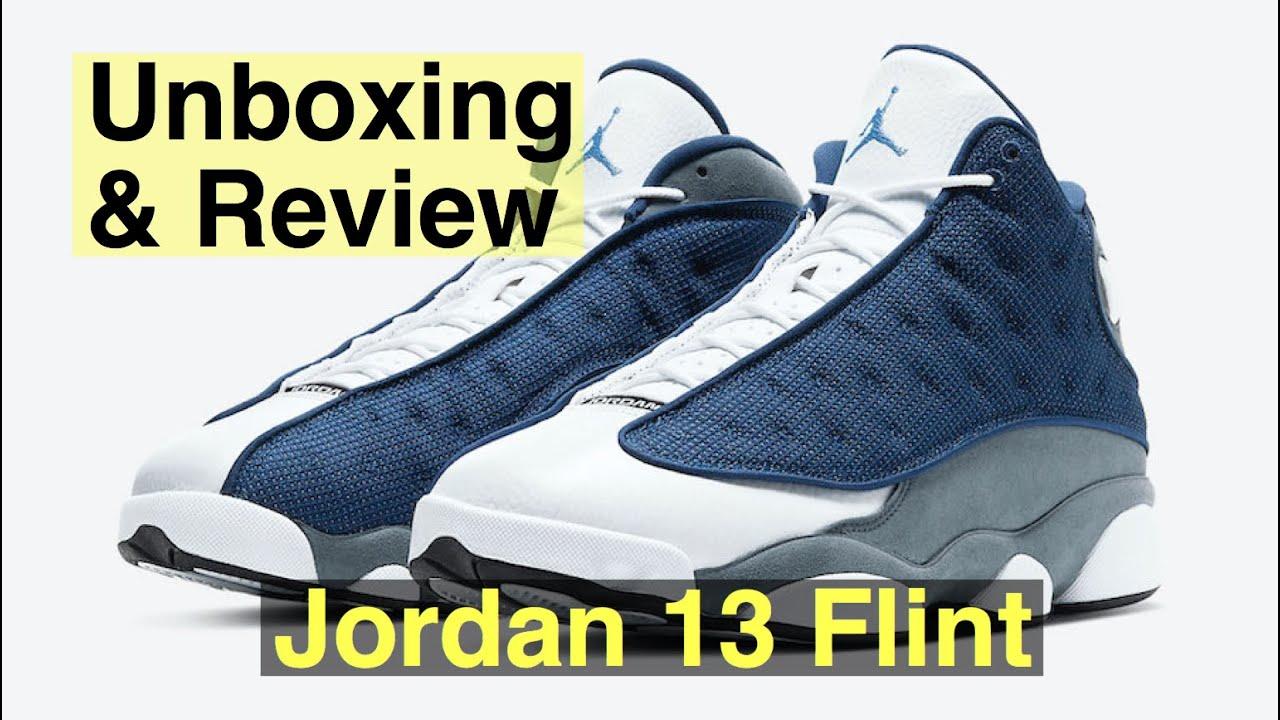 Jordan 13 Flint Unboxing & Review