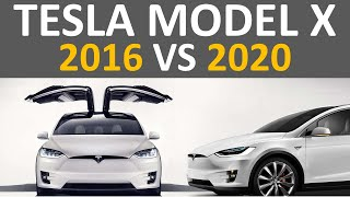 2016 vs 2020 Tesla Model X: How Much Has the Tesla Model X Improved Since 2016?