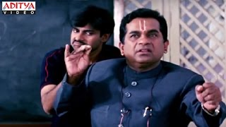 Pawan Kalyan And Brahmanandam Collage Comedy Scene In Mukkebaaz Hindi Movie