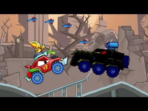 Car Eats Car 2 Хищные машины 2 Машина ест машину игровой мультик видео для детей #KID