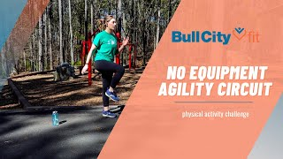NO EQUIPMENT AGILITY CIRCUIT | work on your sport skills with Bull City Fit