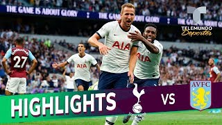 Tottenham vs. Aston Villa: 3-1 Goals & Highlights | Premier League | Telemundo Deportes