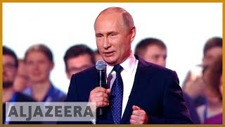 🇷🇺 Russian elections: Putin expected to win fourth term as president | Al Jazeera English