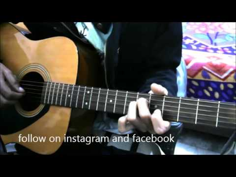 Hold Just 2 Strings and Play Unlimited Songs On Guitar - Hindi Guitar chords lesson beginners