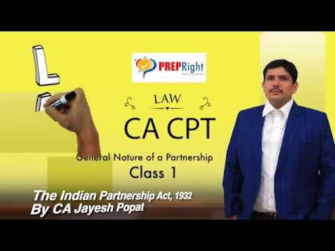 The Indian Partnership Act 1932 - Unit 1 General Nature of Partnership