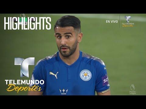 Highlights: Leicester 1 - West Brom 1 | Liga Premier | Telemundo Deportes