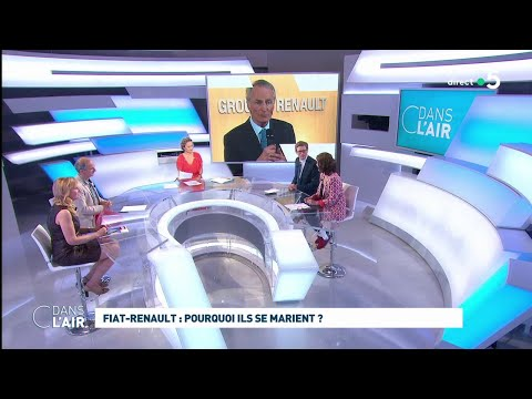 Fiat-Renault : Pourquoi Ils Se Marient ? #cdanslair 28.05.2019