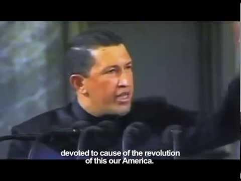 Hugo Chávez Speech in La Habana. 1994