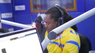 Moji shortbabaa on Radio Maisha (kuzitoka media tour)